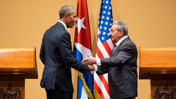 Press conference, Havana